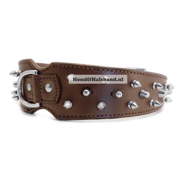 Halsband Baco Brown